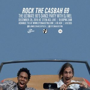 Rock the Casbah 69: The Ultimate 80s Dance Party with DJ Mel